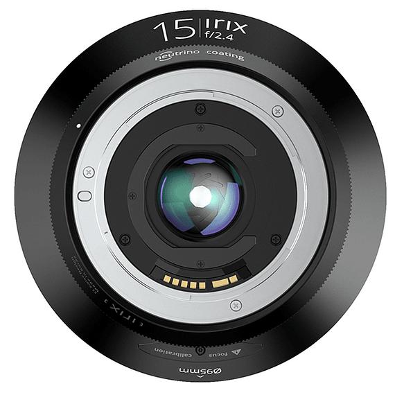 Lente Irix Lens 15mm F/2.4 Blackstone para Pentax- Image 6