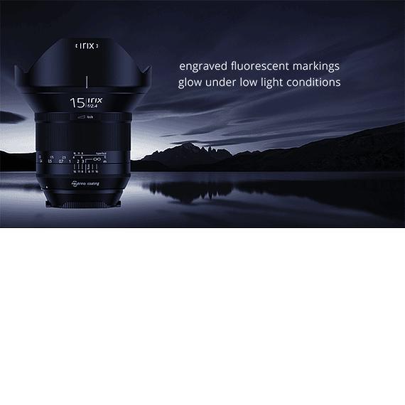 Lente Irix Lens 15mm F/2.4 Blackstone para Canon- Image 12