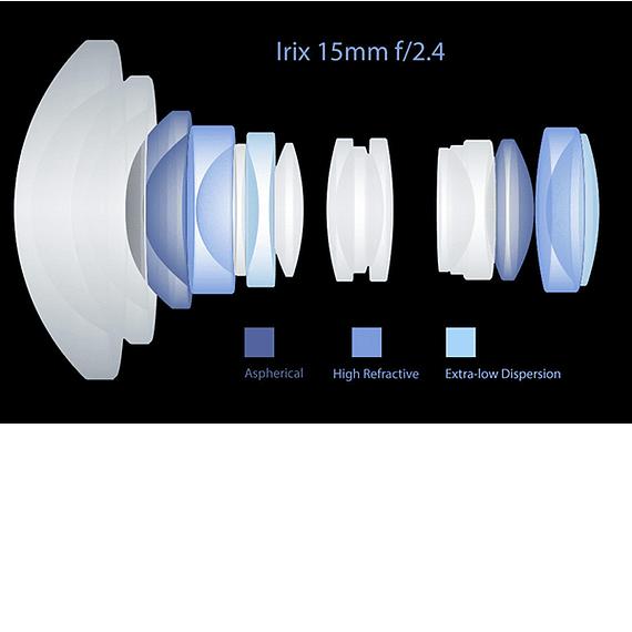Lente Irix Lens 15mm F/2.4 Blackstone para Canon- Image 14