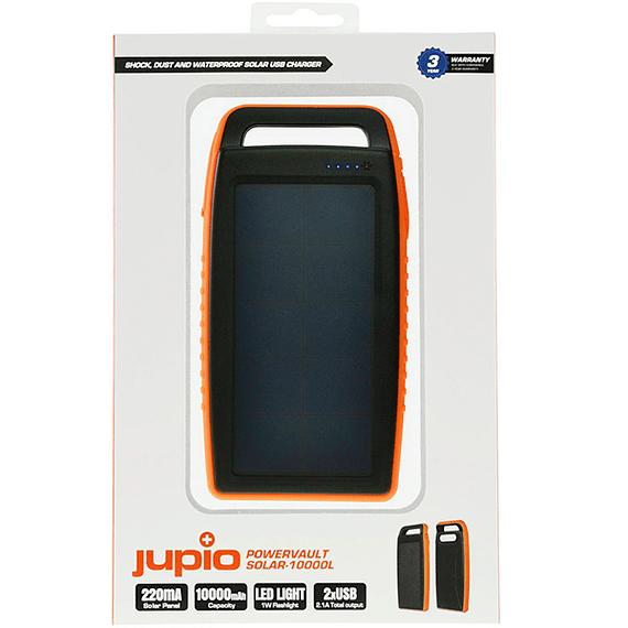 Batería Externa Jupio con Panel Solar 10000 mAh- Image 3