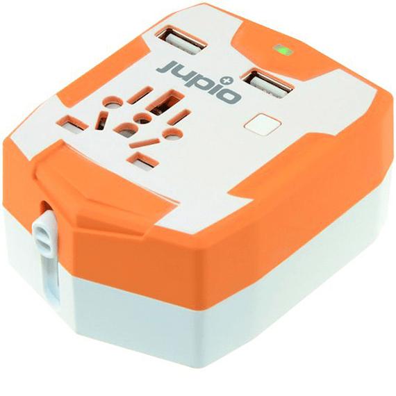 Enchufe/Adaptador Universal Jupio con Batería Externa 3000 mAh- Image 1