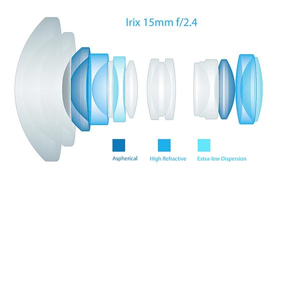 Lente Irix Lens 15mm F/2.4 Blackstone para Pentax- Image 15