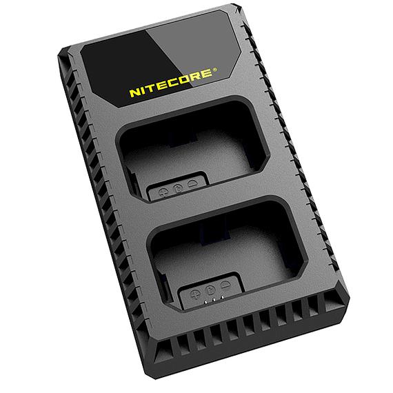 Cargador Nitecore Dual-Slot USB para Sony- Image 3