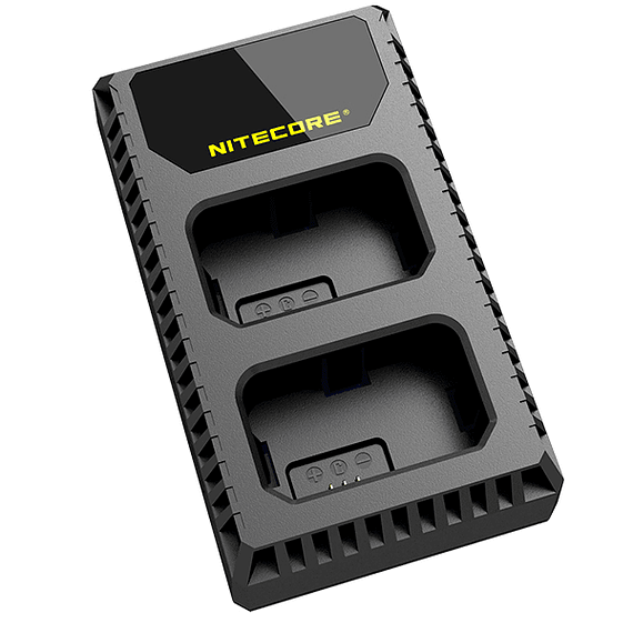 Cargador Nitecore USN1 Dual-Slot USB para Sony NP-FW50- Image 3
