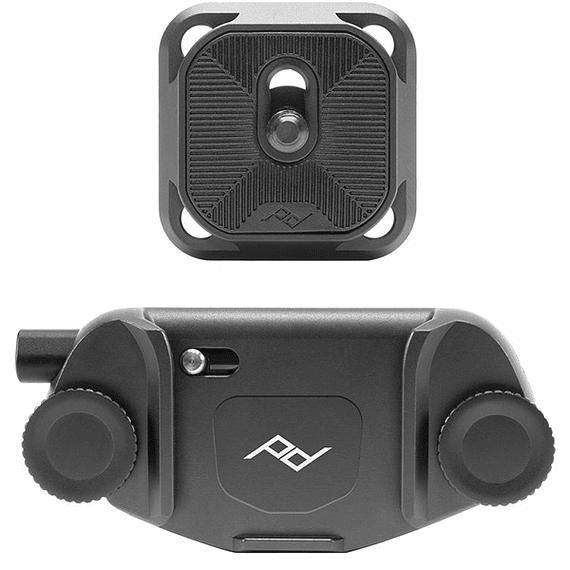 Clip Capture V3 Peak Design con Standard Plate Negro- Image 1