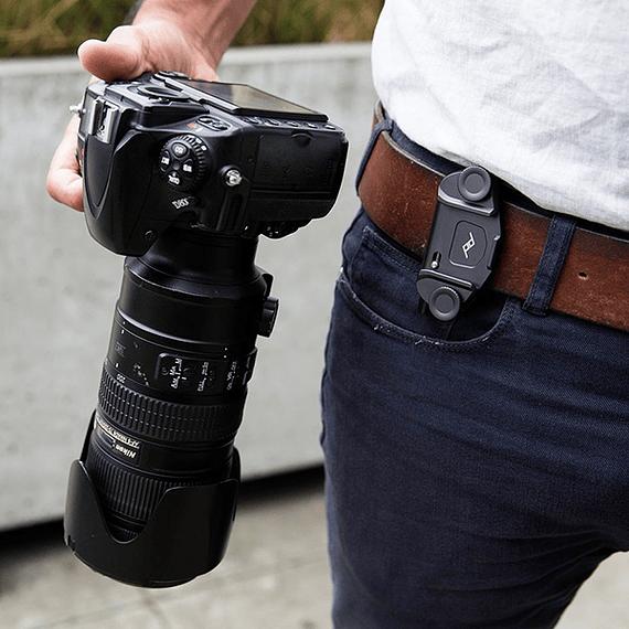 Clip Capture V3 Peak Design con Standard Plate Negro- Image 11