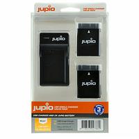 Batería Reemplazo Nikon EN-EL14A Kit 2x con Cargador USB