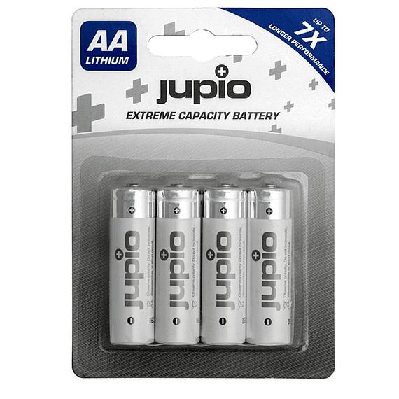 Pilas Lithium Jupio AA 3000 mAh 4 unidades- Image 1