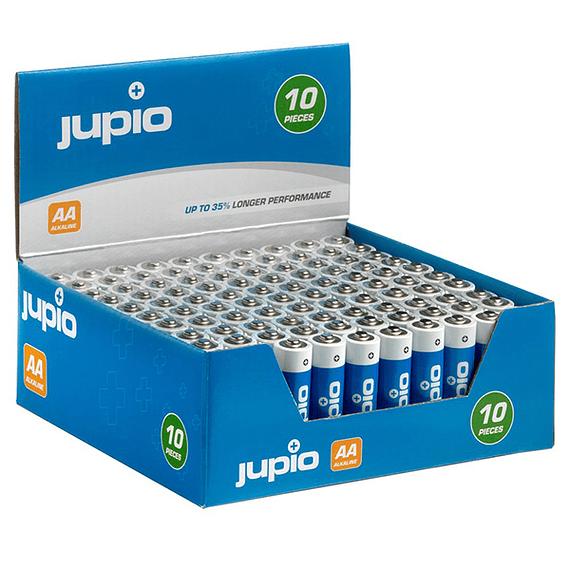 Pilas Alcalinas Jupio AA LR6 10 unidades- Image 3