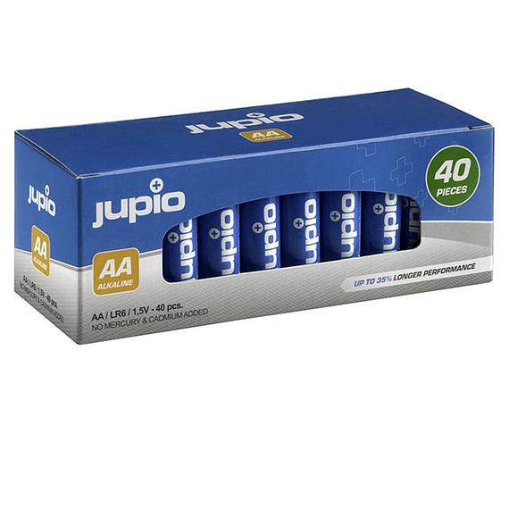 Pilas Alcalinas Jupio AA LR6 40 unidades- Image 2
