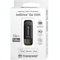 Trascend JetDrive GO 300K 128 GB Lighting / USB 3.1