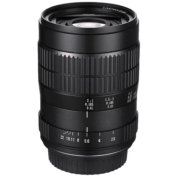 Lente Laowa 60mm f/2.8 2X Ultra-Macro para Canon, Nikon y otros- Image 1