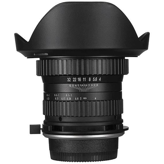 Lente Laowa 15mm f/4 1X Wide Angle Macro con SHIFT para Canon, Nikon y otros- Image 1