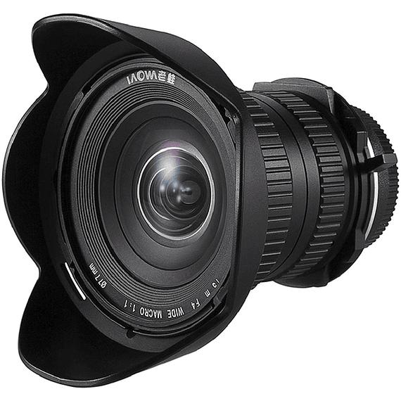 Lente Laowa 15mm f/4 1X Wide Angle Macro con SHIFT para Canon, Nikon y otros- Image 2