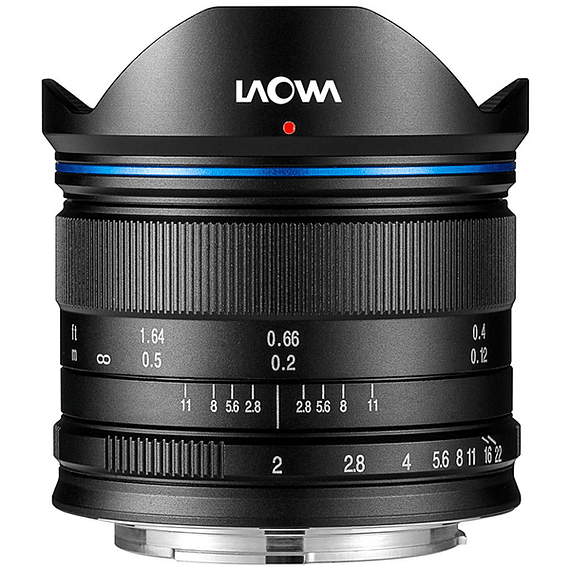 Lente Laowa 7.5mm f/2 MFT para Micro Cuatro Tercios Ultra-Light- Image 1