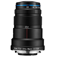 Lente Laowa 25mm f/2.8 2.5-5X Ultra Macro Canon, Nikon y otros