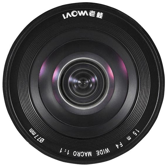 Lente Laowa 15mm f/4 1X Wide Angle Macro con SHIFT para Canon, Nikon y otros- Image 4