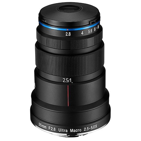 Lente Laowa 25mm f/2.8 2.5-5X Ultra Macro Canon, Nikon y otros- Image 2