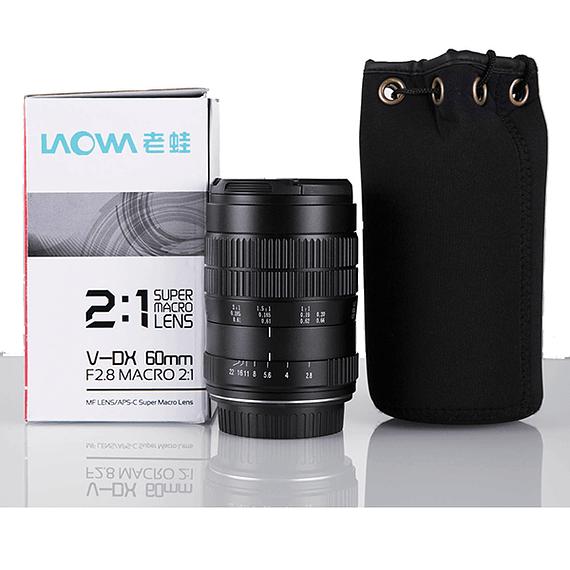 Lente Laowa 60mm f/2.8 2X Ultra-Macro para Canon, Nikon y otros- Image 7
