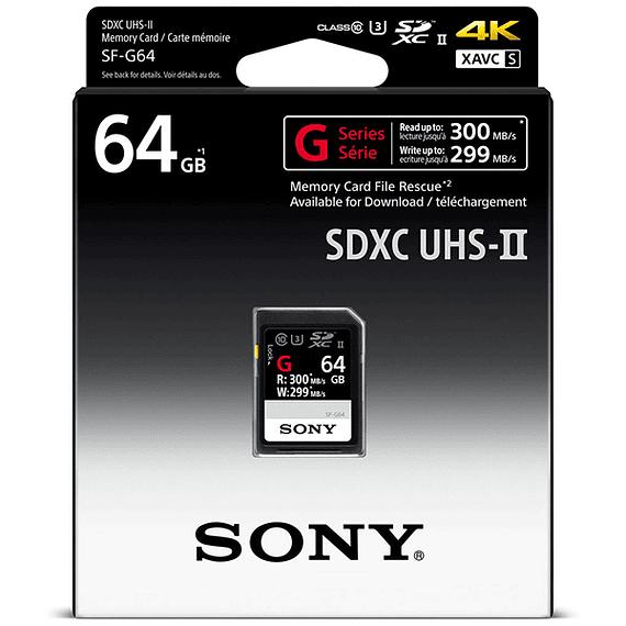 Tarjeta Memoria Sony 64GB SDXC SF-G Series UHS-II- Image 2