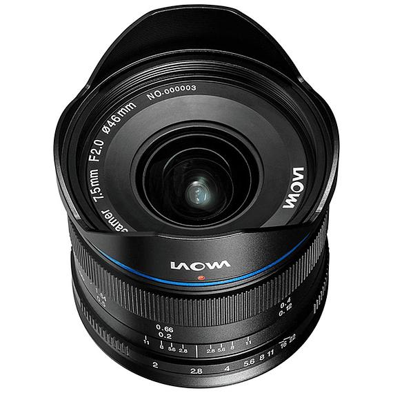 Lente Laowa 7.5mm f/2 MFT para Micro Cuatro Tercios Ultra-Light- Image 5