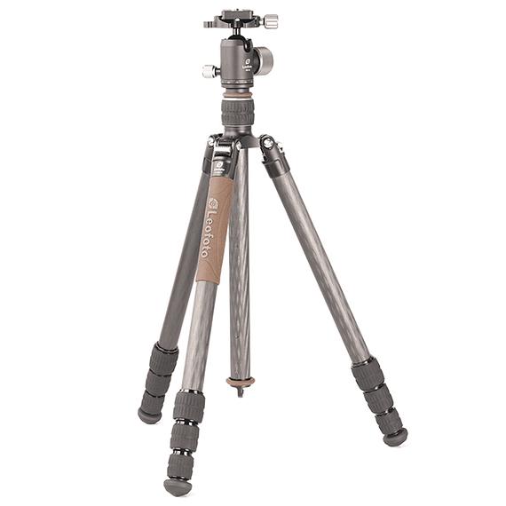 Trípode Carbono Leofoto Serie LX con Cabezal 4 Sec. LX-284CT- Image 1