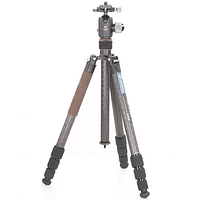 Trípode Carbono Leofoto Serie LX con Cabezal 4 Sec. LX-324CT