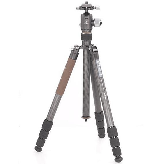 Trípode Carbono Leofoto Serie LX con Cabezal 4 Sec. LX-324CT- Image 1