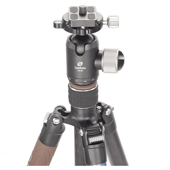 Trípode Carbono Leofoto Serie LX con Cabezal 4 Sec. LX-284CT- Image 2