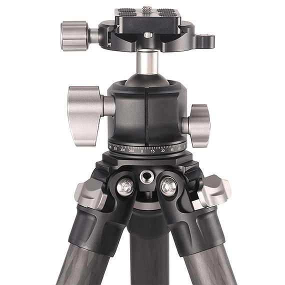 Trípode Carbono Leofoto Ranger con Cabezal 4 Sec. LS-254C- Image 6