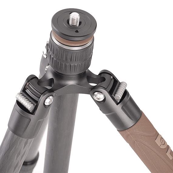 Trípode Carbono Leofoto Serie LX con Cabezal 4 Sec. LX-284CT- Image 5