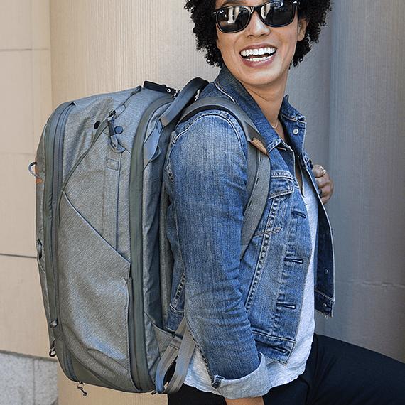Mochila Peak Design Travel Backpack 45L Gris Verde- Image 26