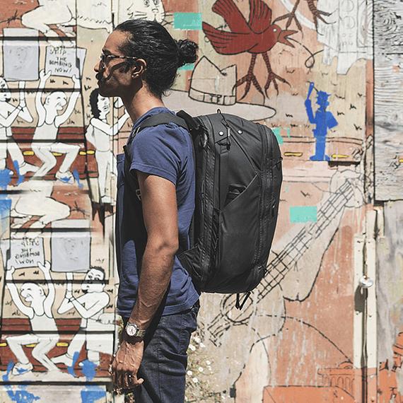 Mochila Peak Design Travel Backpack 45L Gris Verde- Image 27