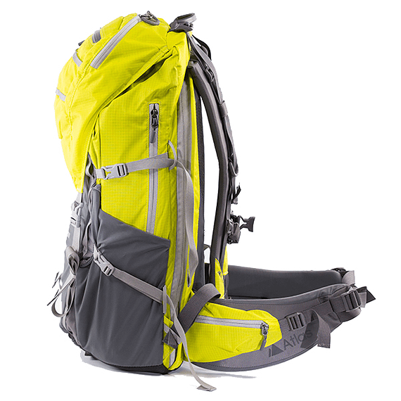 Mochila Atlas Packs Athlete Pack 40L Amarillo- Image 5