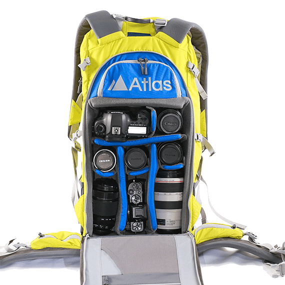 Mochila Atlas Packs Athlete Pack 40L Amarillo- Image 6