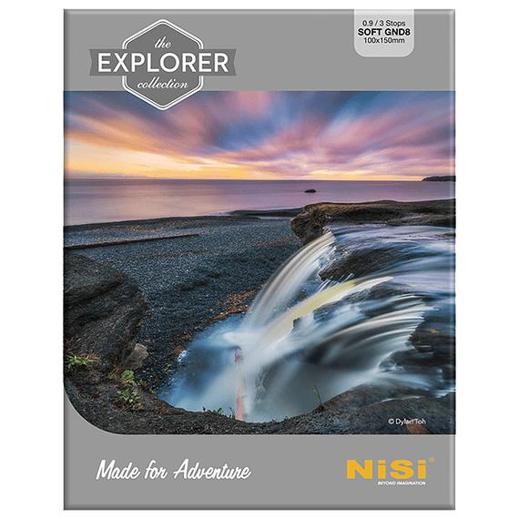 Filtro NiSi Explorer Collection Nano Soft IR GND8 (0,9) 3 pasos 100mm- Image 1