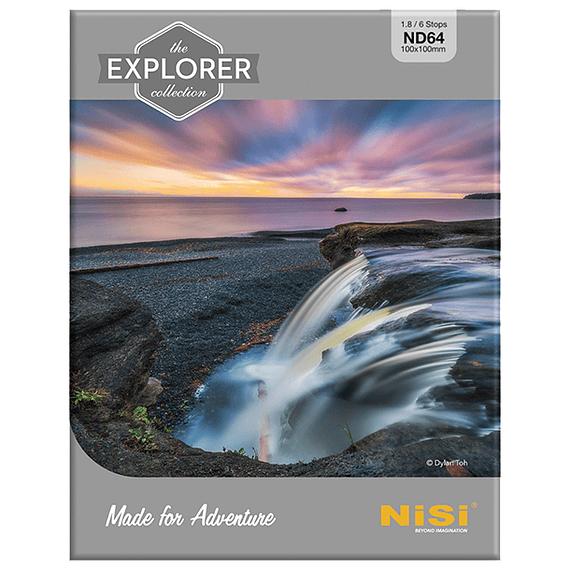 Filtro NiSi Explorer Collection Nano ND64 IR 6 pasos 100mm- Image 1