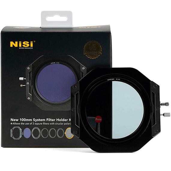 Portafiltros Profesional NiSi 100mm V6 con Polarizador Enhanced Landscape- Image 9
