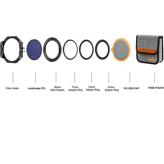 Portafiltros Profesional NiSi 100mm V6 con Polarizador Enhanced Landscape- Image 17