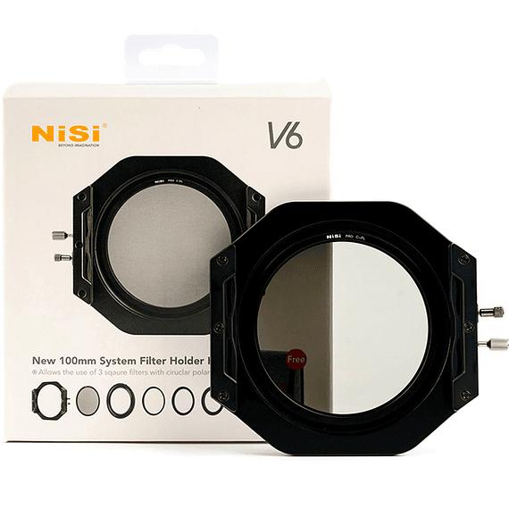 Portafiltros Profesional NiSi 100mm V6 con Polarizador- Image 8