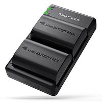 Batería Reemplazo RAVPower Canon LP-E6N Kit 2x con Cargador USB