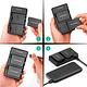Batería Reemplazo RAVPower Canon LP-E8 Kit 2x con Cargador USB - Image 8