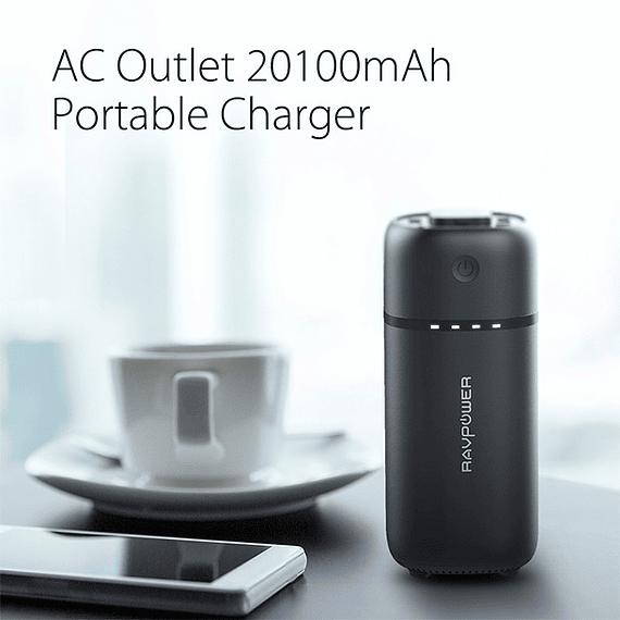 Batería Externa AC Outlet RAVPower 20100 mAh- Image 4