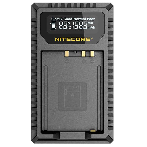 Cargador Nitecore FX1 Dual-Slot USB para Fuji NP-W126s- Image 1