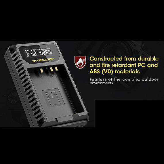Cargador Nitecore FX1 Dual-Slot USB para Fuji NP-W126s- Image 4