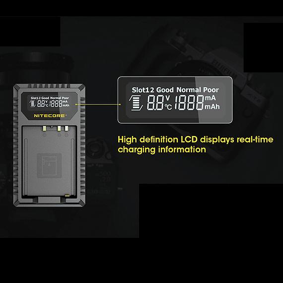 Cargador Nitecore FX1 Dual-Slot USB para Fuji NP-W126s- Image 19