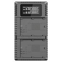Cargador Nitecore UCN2 PRO Dual-Slot USB para Canon LP-E6N