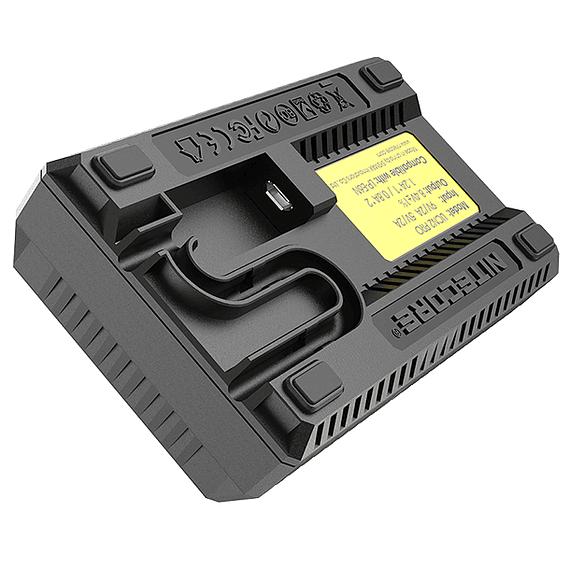 Cargador Nitecore UCN2 PRO Dual-Slot USB para Canon LP-E6N- Image 5