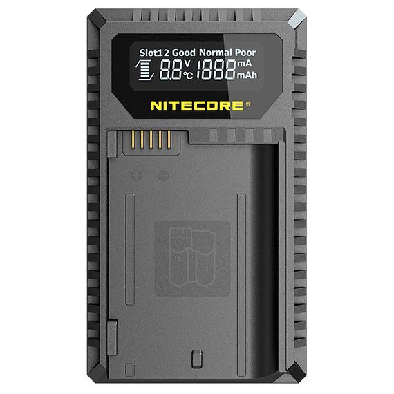 Cargador Nitecore UNK2 Dual-Slot USB para Nikon EN-EL15 y EN-EL15A- Image 1