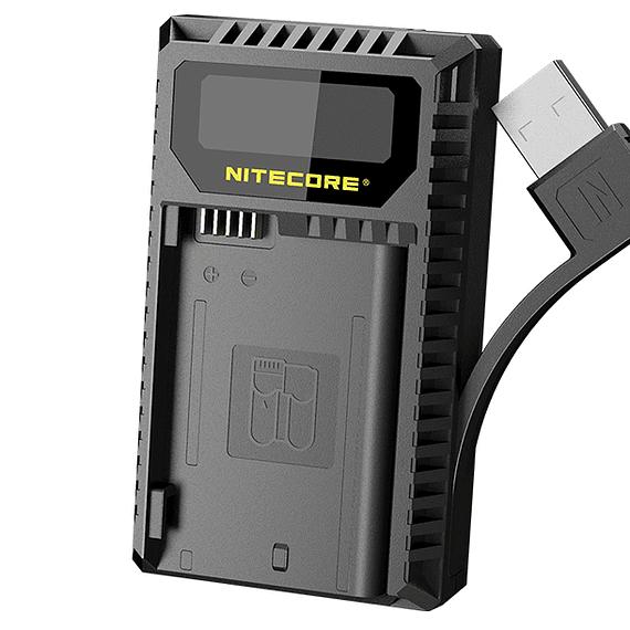 Cargador Nitecore UNK2 Dual-Slot USB para Nikon EN-EL15 y EN-EL15A- Image 2